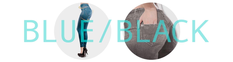 blue-black-fitjeggings